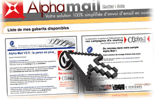 Atelier composition email HTML